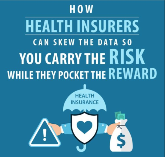 Infographic: how health insurers manipulate data to justify rate hikes